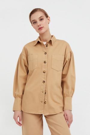 блузка джинсовая женская Finn-Flare